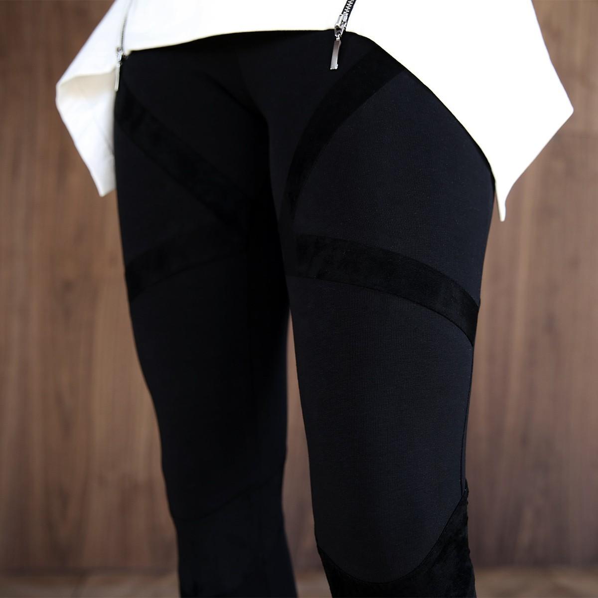 Леггинсы «Bandage Total Black»
