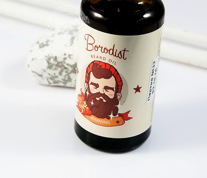RAZ195 Масло для роста бороды с перцем «Borodist Warming» (30 мл) фото 02