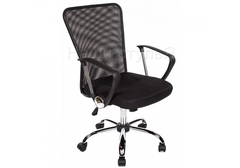 Офисное кресло Люкс (Luxe) черное