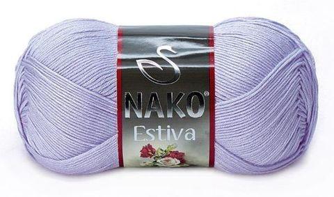 Пряжа Nako Estiva 6888 сиреневый