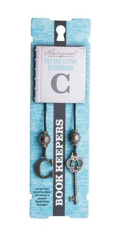 Bookmark Book Keepers  Letter - C