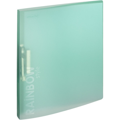 Папка с зажимом Attache Rainbow Style зеленый