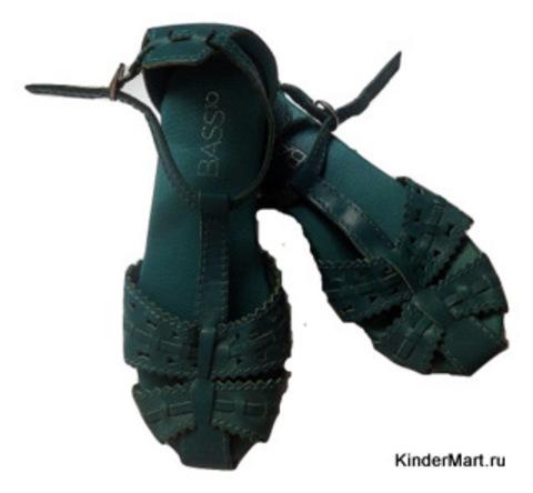 Босоножки кожаные на девочку Испания