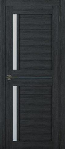 Дверь APOLLO DOORS F2, стекло матовое, цвет дуб серый, остекленная