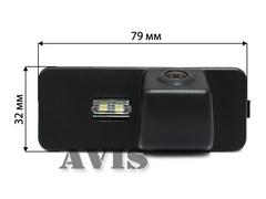 Камера заднего вида для Volkswagen Passat CC Avis AVS312CPR (#103)