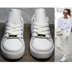 Кеды женские кожаные Molly shoes 557 Whate