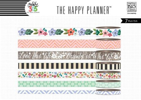 Набор скотчей Create 365 Planner Washi Tape- Fresh Floral