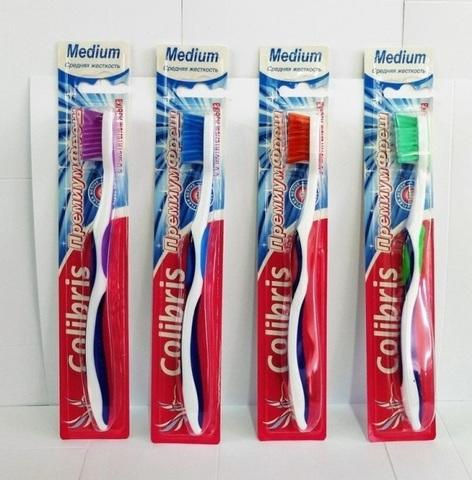 Colibris Зубная щетка средняя жесткость 0929