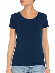32020-3 футболка женская, темно-синяя