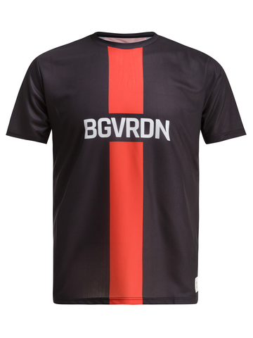 Футболка, Gri, BGVRDN, унисекс, черный