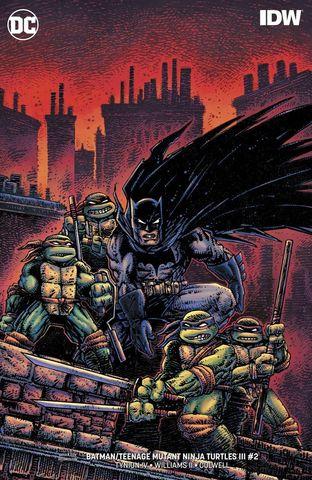 Batman/Teenage Mutant Ninja Turtles III #2