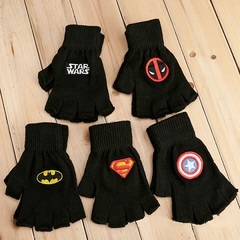 Gloves Superhero Winter Woolen for Children
