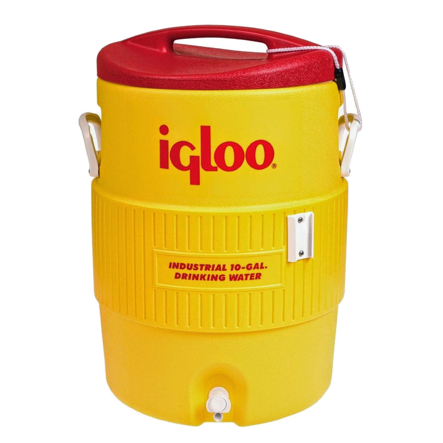 Изотермический контейнер (термобокс) Igloo 10 Gallon 400 Series Beverage Cooler (38 л.), желтый