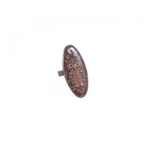 Кольцо сова K27969.9.17 R