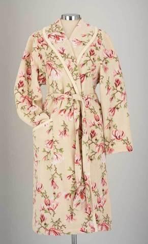 Элитный халат шенилловый Magnolia beige Collete от Feiler