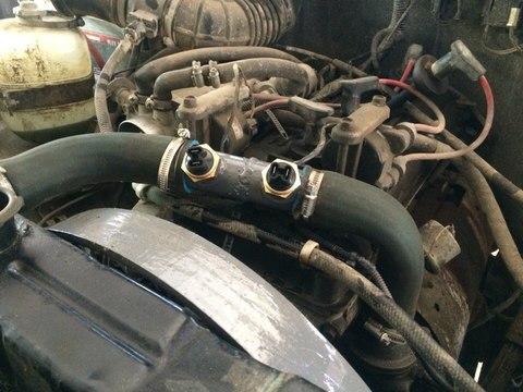 Установка дополнительного вентилятора на УАЗ Патриот фото-2