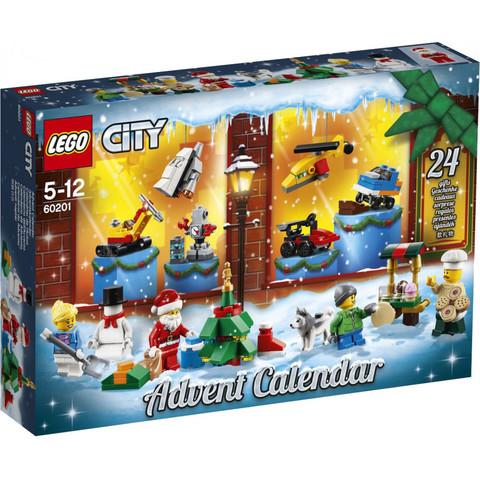 LEGO City: Новогодний календарь 2019 60201 — City Advent Calendar — Лего Сити Город
