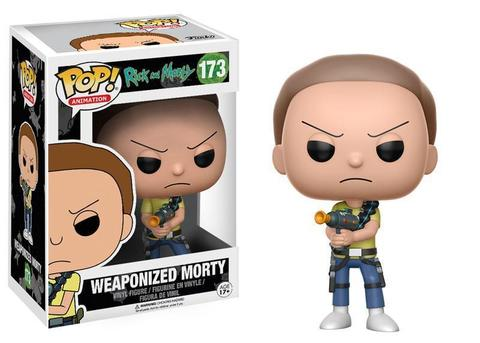 Фигурка Funko POP! Vinyl: Rick & Morty: Weaponized Morty 124409