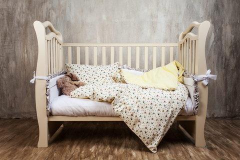Детское постельное белье German Grass Kinder желтое