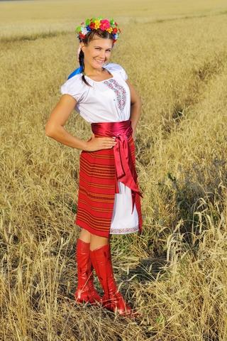 Русский костюм Славянка для танцев