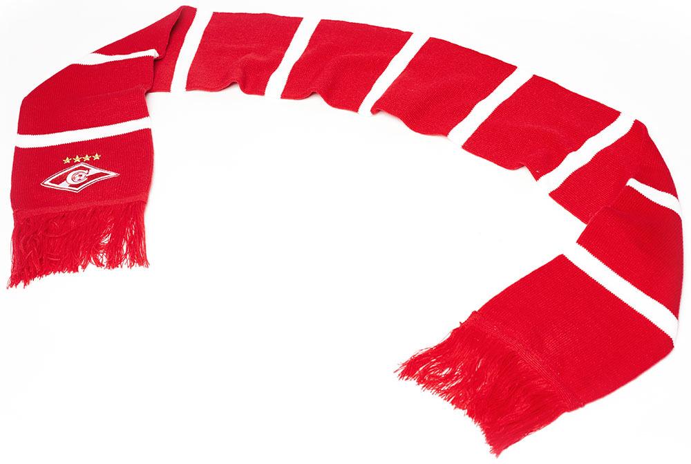 Шарф Спартак красно-белый