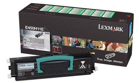 Картридж для принтеров Lexmark E450 черный (black). Ресурс 11000 стр (E450H11E)
