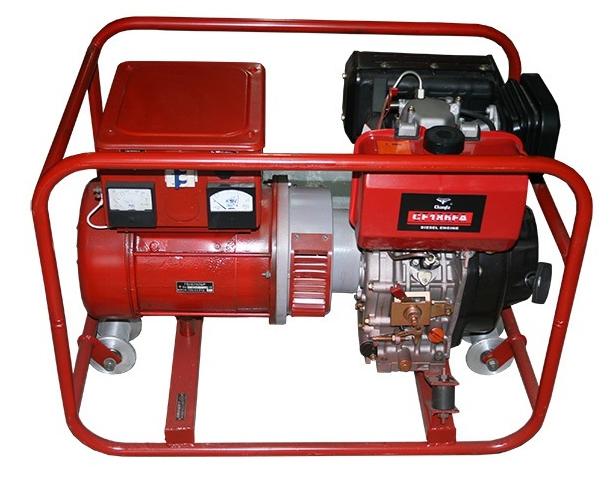Электроагрегат путевой дизельный АД4 (4 кВт)