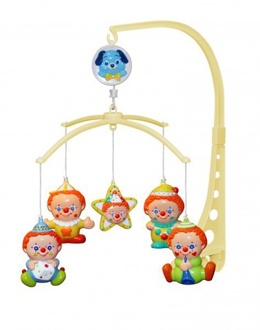 Музыкальная карусель Клоуны / Lorelli toys /