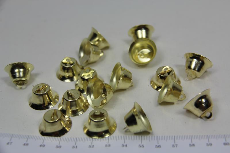 Колокольчики для творчества, 2,6 см, 1 шт, металл.
