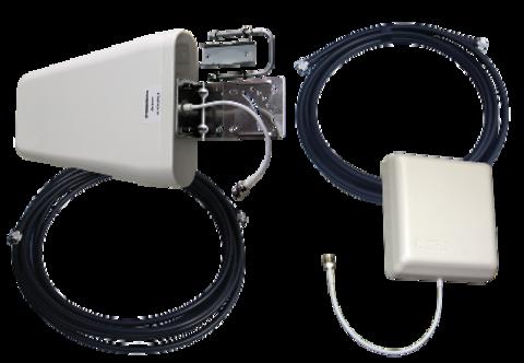 Комплект антенн для репитера 800-2700МГц (GSM, DCS, WiFi, 3G, LTE) 15м