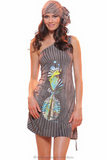 Платье с открытым плечом Save The Queen