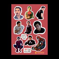 Набор стикеров Tom Holland/Spider Man