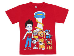 19065-47 футболка детская, красная