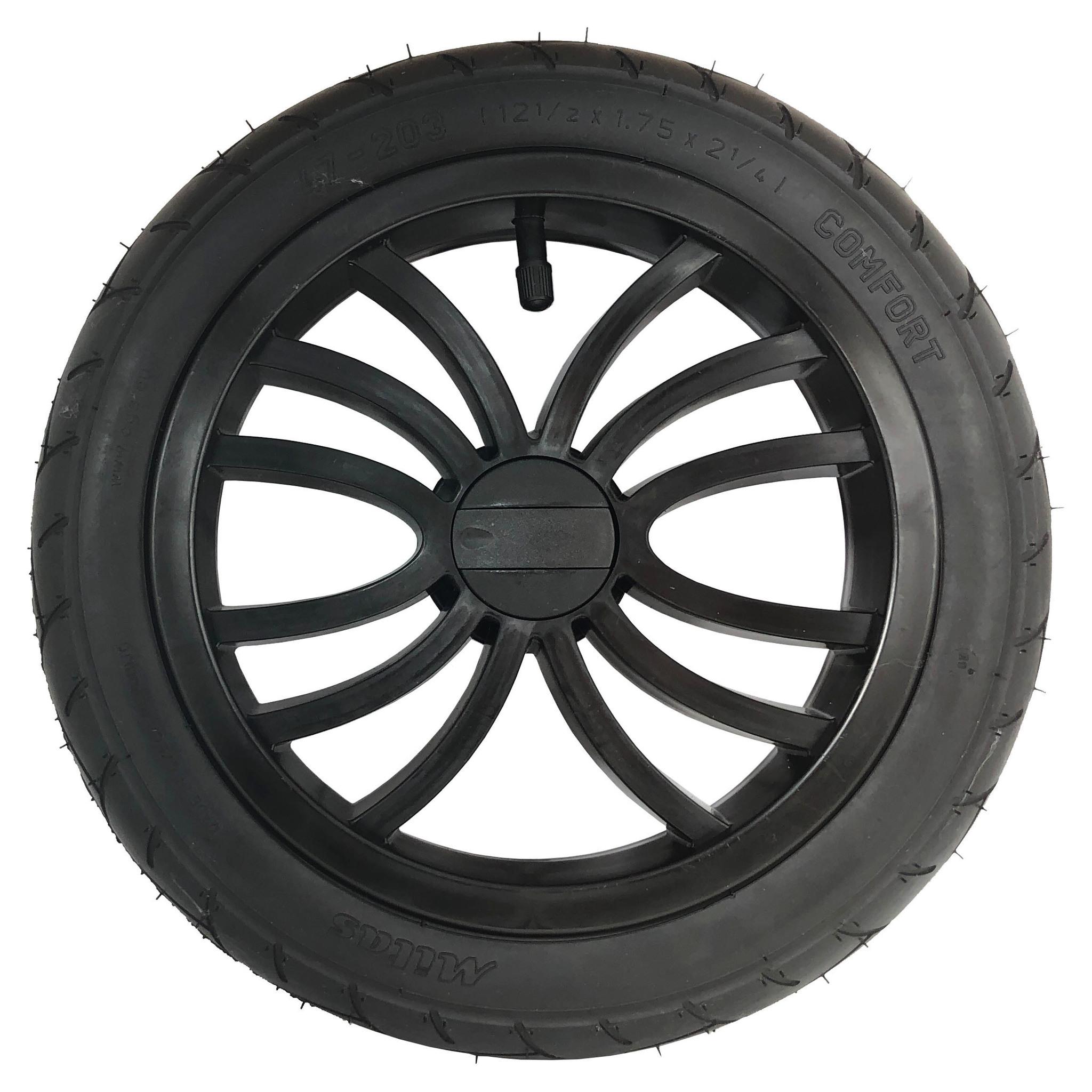 12 дюймов (30 см) Колесо для коляски Slaro 12 1/2 x 1.75 x 2 1/4 Колесо_12_луч.jpg