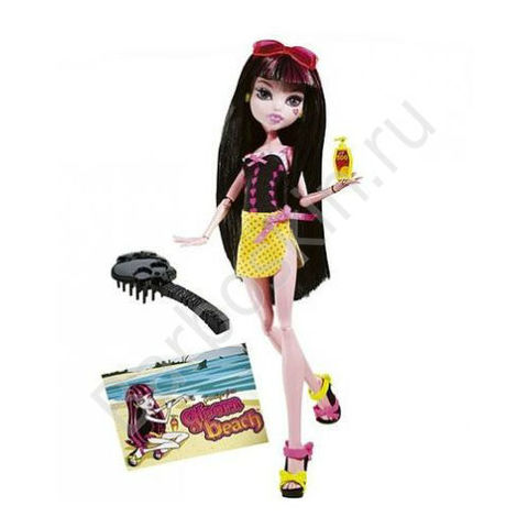 Кукла Monster High Дракулаура (Draculaura) - Мрачный пляж (Gloom Beach), Mattel
