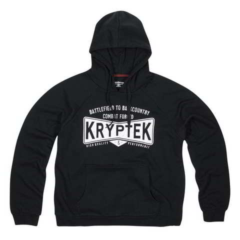 Толстовка с капюшоном KRYPTEK COVERT HOODIE  (черный)