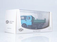 ZIL-MMZ-45085 dump truck blue-green 1:43 Start Scale Models (SSM)