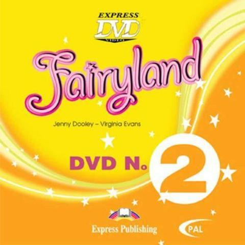 Fairyland 2. DVD Pal. DVD PAL. Beginner. (International). Диск DVD PAL