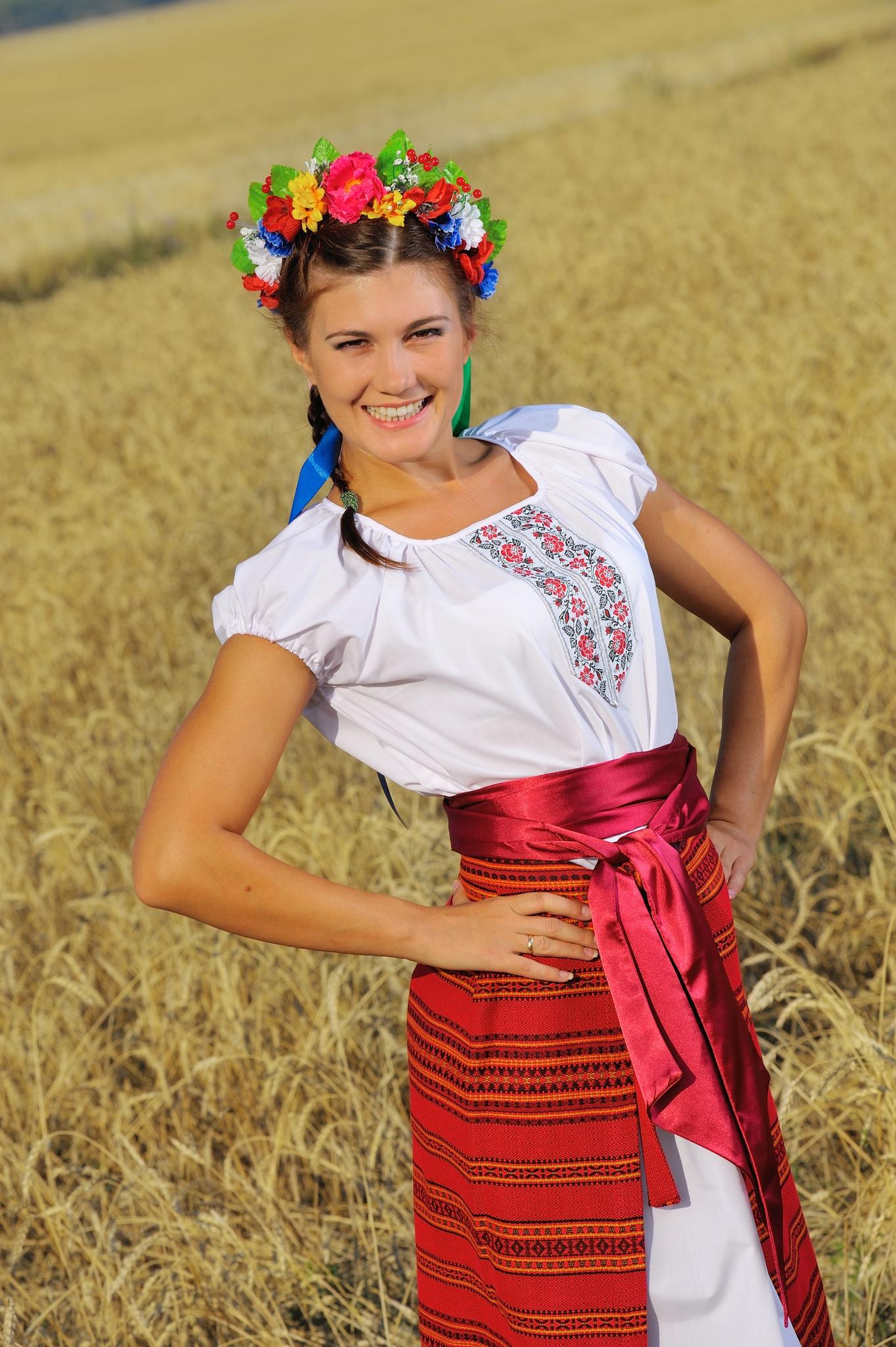 Русский костюм Славянка для песен