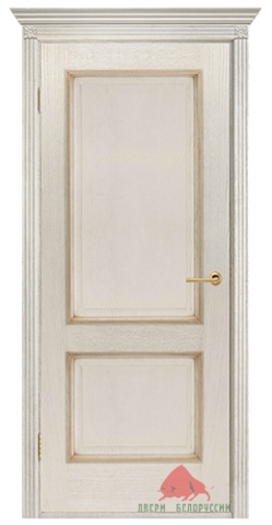 Дверь Двери Белоруссии Гранд ПГ, цвет слоновая кость, глухая