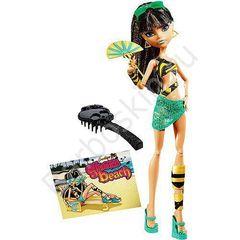 Кукла Monster High Клео де Нил (Cleo de Nile) - Мрачный пляж (Gloom Beach), Mattel