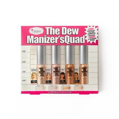 The Balm Набор жидких хайлайтеров The Dew Manizer'sQuad - Mini Liquid Highlighters