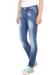 Y5312 джинсы женские, темно-синие