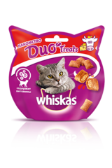 Whiskas Duo Treats 40 г лакомство с говядиной и сыром