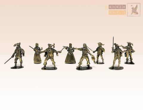 набор солдатиков Мушкетеры 8 шт.