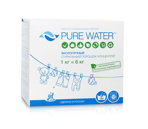 Мико порошок стиральный Pure Water 1кг