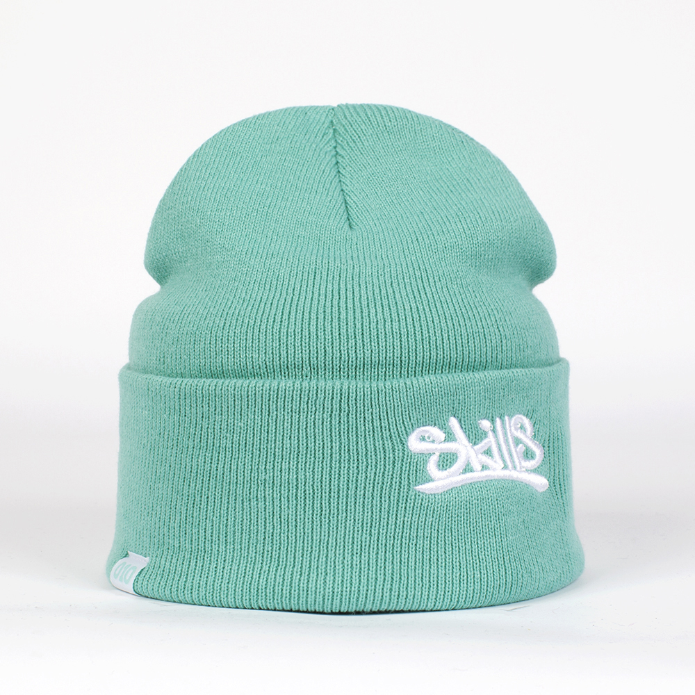 Шапка SKILLS 001 Beanie FW14 LIGHT BLUE