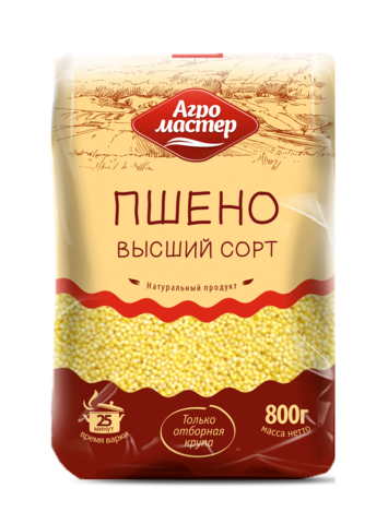 "Пшено ""Агромастер"" 800 г"