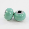5890 Бусина Сваровски BeCharmed Pearl Crystal Jade 14х10 мм
