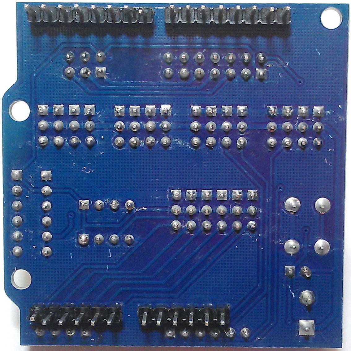 Плата расширения Sensor Shield V5 0 для Arduino UNO